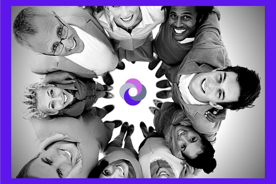 Círculo personas - Encuentros entorno a la facilitación